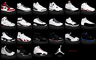 Jordan Brand Sneakers Collection Poster 1-23 24x36 inches