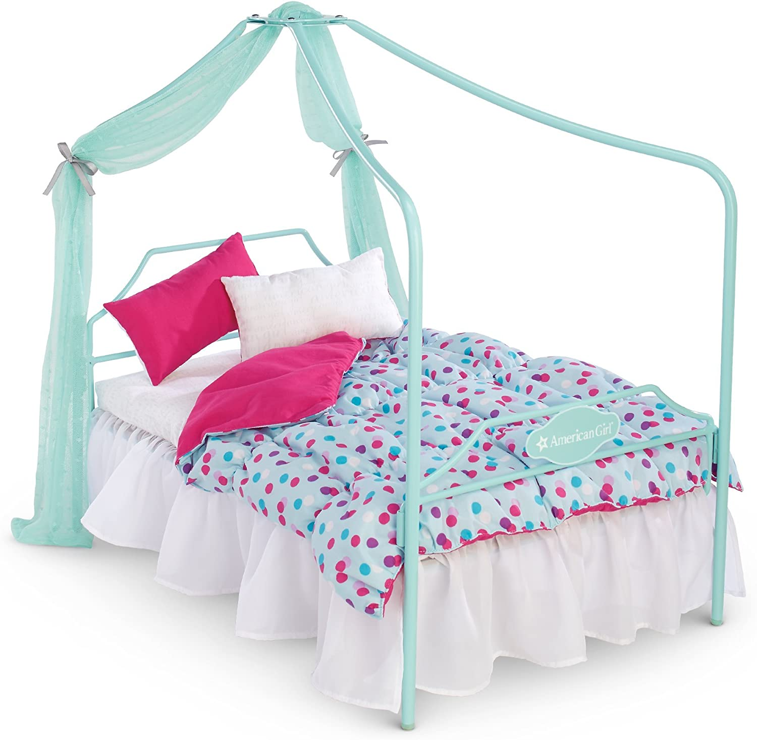 American Girl Truly Me Canopy Bed for 18 Dolls