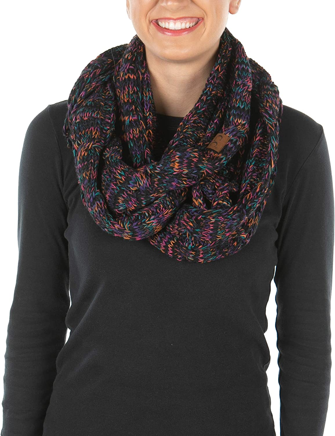 Funky Purchase Junque Exclusives Infinity Scarf It is very popular Warm Cable Winter Womens