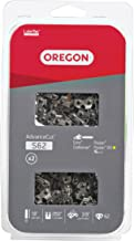 Oregon S62T AdvanceCut 18-Inch Chainsaw Chain, Fits Echo, Craftsman, Poulan (2-Pack)