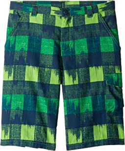 Cyber Green/Multi Plaid