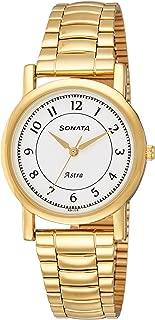 Sonata Analog White Dial Men's Watch-77049YM03C