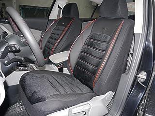 Sitzbezüge K Maniac für Golf VII   Universal Schwarz Rot   Autositzbezüge Set Komplett   Autozubehör Innenraum   No. 4A   Kfz Tuning   Sitzbezug   Sitzschoner