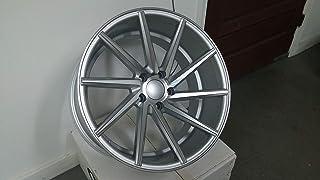 """IPW W013 19x8.5 5x120 35mm Silver/Machined Wheel Rim 19"""" Inch"""