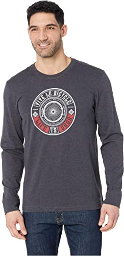 Vive Le Bicycle Crusher™ Long Sleeve Tee