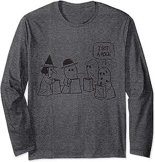 Halloween Charlie Brown I got a Rock Long Sleeve T-Shirt