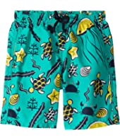 Vilebrequin Kids - Jim Turtles Beach Swim Trunk (Toddler/Little Kids/Big Kids)