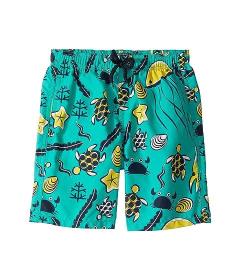 Vilebrequin Kids Jim Turtles Beach Swim Trunk (Toddler/Little Kids/Big Kids)