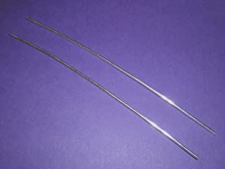 """Pair of 6"""" Colloidal Silver Generator Wires 9999 Pure 12 Gauge by LifeForce Devices"""