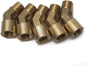 LTWFITTING Brass Pipe 45 Deg 1/4