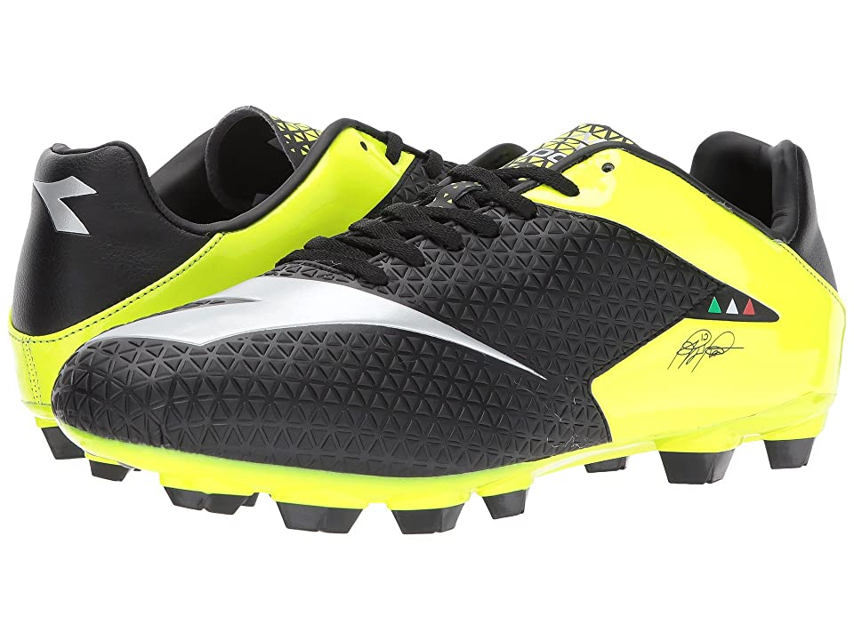 Diadora MW-Tech RB R LPU (Black/Yellow Flourescent) Men