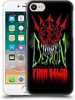 Official WWE Finn Balor Demon Resurrection 2017/18 Superstars Hard Back Case Compatible for iPhone 7 / iPhone 8