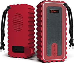 Waterproof Bluetooth Speaker with FM Radio– IP67 Rated Fully Submersible – Dust,..