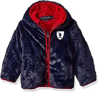 U.S. Polo Assn. Boys J_UD83H Plush Outerwear Jacket Fleece Jacket