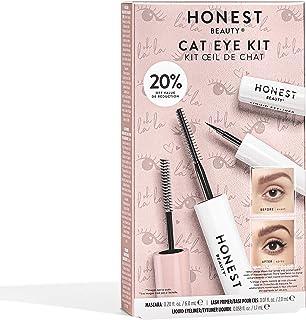 Honest Beauty Cat Eye Kit | Limited Edition | Perfect for Gifting | Full Size Extreme Length Mascara + Lash Primer & Full ...