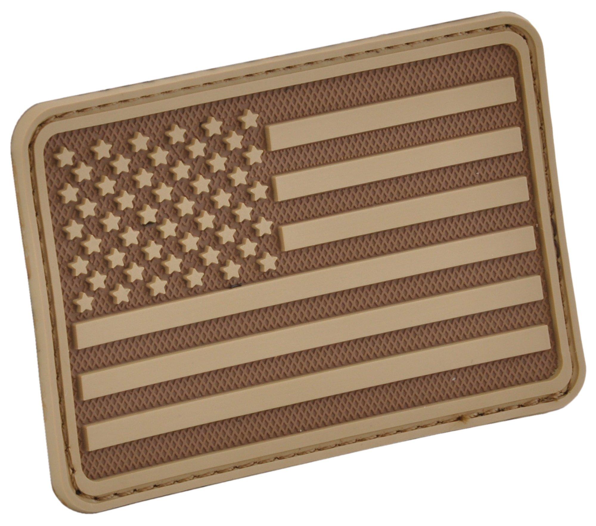 Hazard 4 3D EE.UU. Bandera Moral Patch (Brazo Izquierdo) Coyote: Amazon.es: Deportes y aire libre