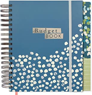 Boxclever Press Budget Planner. Luxury Monthly Planner Bill Organizer with Expense Trackers. Financial Planner to Help Eliminate Debt! Check Out The Video! Undated Budget Book with Pockets. 9.5 x 8``