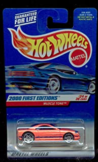 Hot Wheels 2000 First Editions -#24 Muscle Tone PR-5 Wheels #2000-84 Collectible Collector Car Mattel 1:64 Scale
