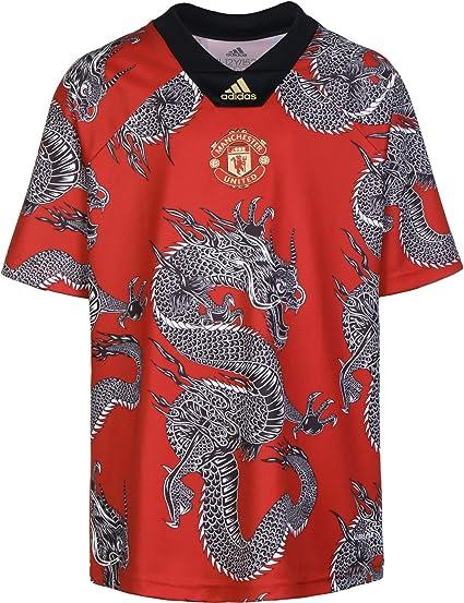 adidas Manchester United FC Dragon Niño, Camiseta, Team Red