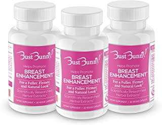 Breast Enhancement Pills – Vegan Friendly – 3 Month Supply | #1 Natural Way..