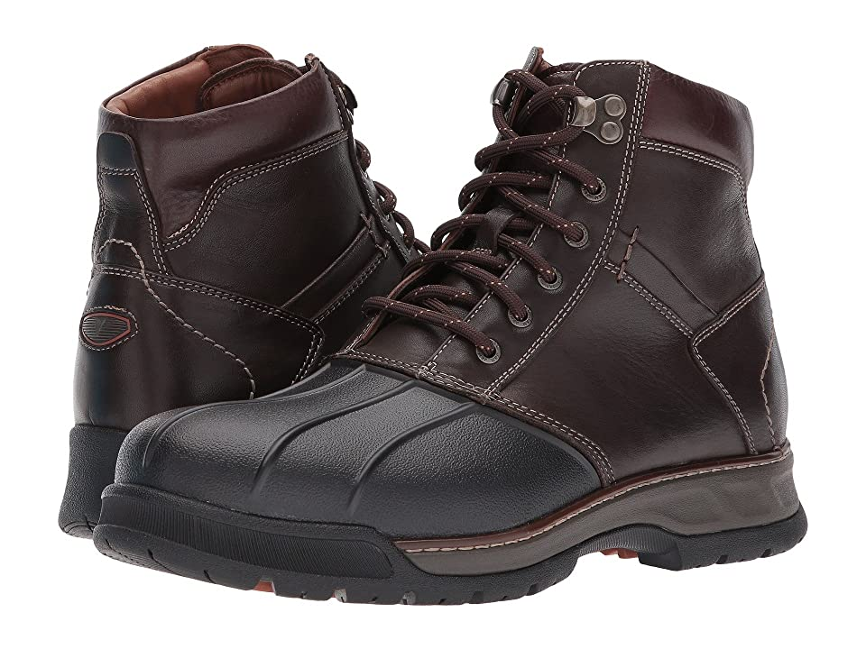 Johnston & Murphy Thompson XC4(r) Waterproof Duck Boot (Moss Brown Waterproof Full Grain) Men