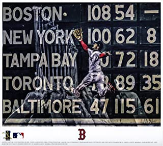 Andrew Benintendi Boston Red Sox 2018 MLB World Series Champions Artist Signed 8