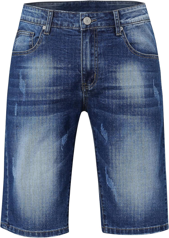 Men's Classic Loose Denim Shorts
