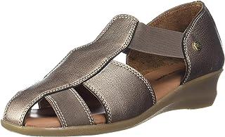 Hush Puppies Women's Evaro Fm Leather Flat Sandal