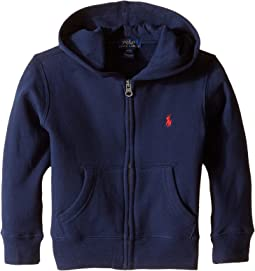 Polo Ralph Lauren Kids Collection Fleece Full-Zip Hoodie (Toddler)