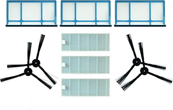 V85 Staubsauger Home Cleaner Heimroboter 2600mAh, 14.8V, Li-Ion vhbw Akku passend f/ür Zaco V3sPro V5sPro V80 V4 V5x