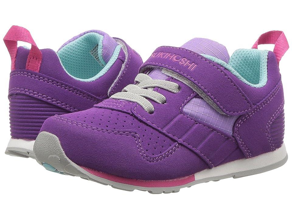 Tsukihoshi Kids Racer (Toddler/Little Kid) (Purple/Lavender) Girls Shoes