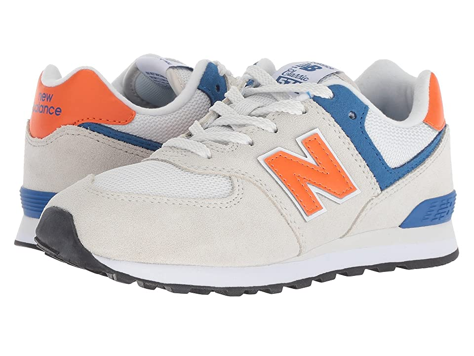 New Balance Kids GC574v1 (Big Kid) (Nimbus Cloud/Bengal Tiger) Boys Shoes
