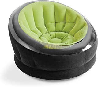"Intex Empire Inflatable Chair, 44"" X 43"" X 27"", Green"