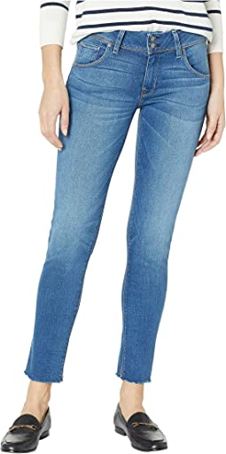 Collin Mid-Rise Ankle Flap Pocket Jeans in Vision