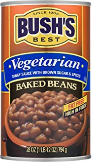 Bush's Best, Vegetarian Baked Beans, 28oz Can (Pack of 4)