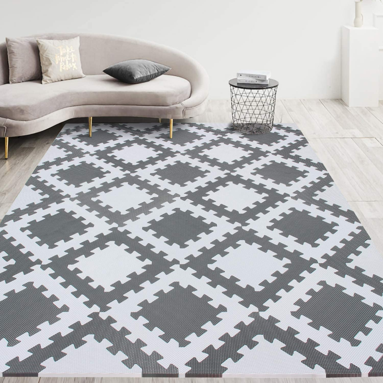 meiqicool Playmat Foam Play Tiles Interlocking Play mat £22.66 w/code ME2TSOGY @ Amazon