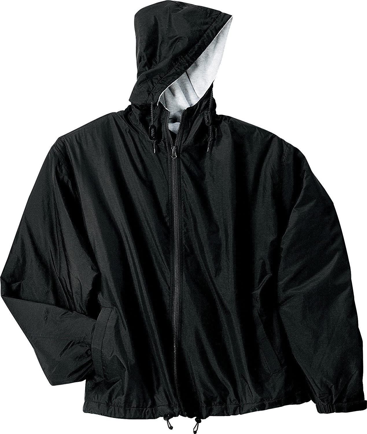Port Genuine Authority New Free Shipping Team Jacket Black Oxford 2XL Light and