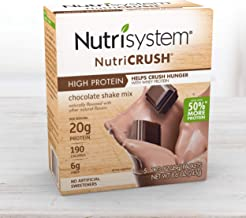 Nutrisystem® NutriCRUSH® Shake Mix - Chocolate, 20g Protein (20 ct Case) - On The Go Protein Shakes to Support Healthy Weight Loss