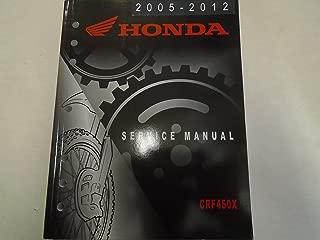 2005 2006 2007 2008 2009 2010 2011 2012 HONDA CRF450X Service Repair Manual ***