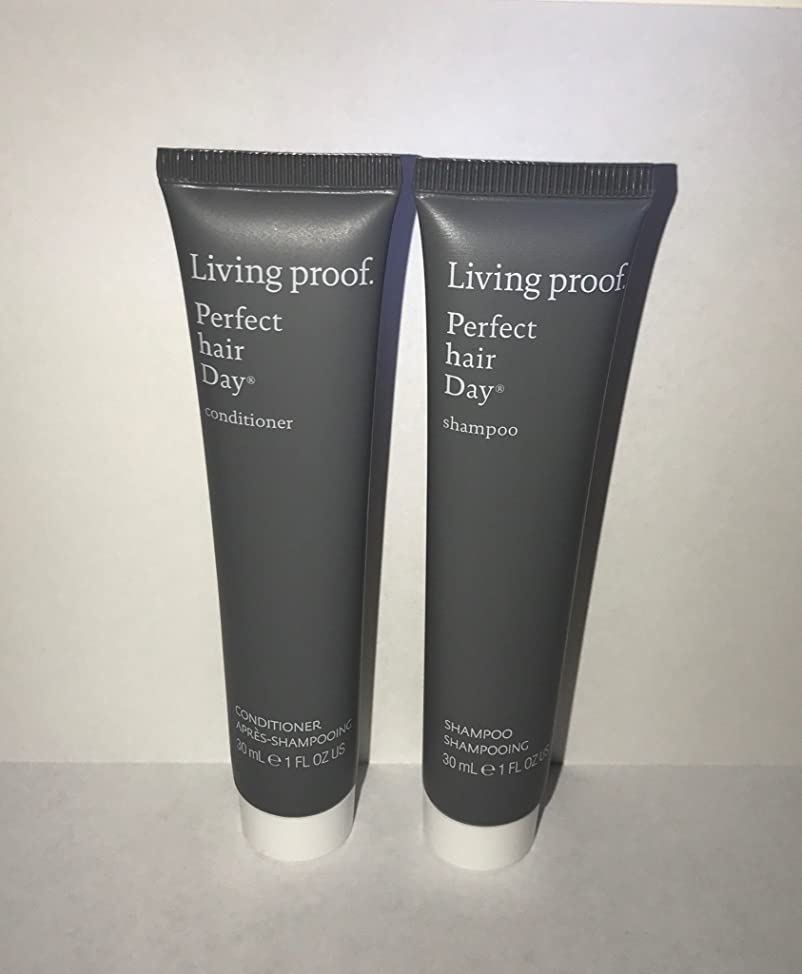 Living Proof Perfect Hair Day (PhD) Shampoo & Conditioner 1 Ounce Travel Set