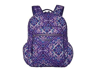 Vera Bradley Iconic Campus Backpack (Regal Rosette) Backpack Bags