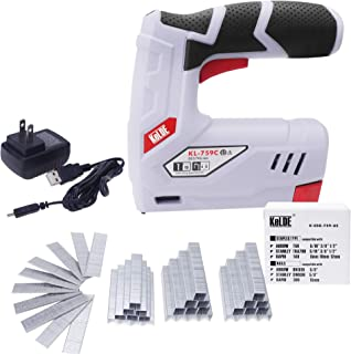 arrow cordless electric staple gun