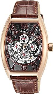 [ゾンネ]SONNE 腕時計 SONNE×HAORI PRODUCED ブラック文字盤 H015PG-BR メンズ