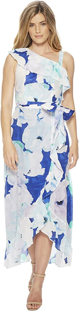 Calvin Klein - Floral Asymmetric Shoulder Maxi CD8G31HP