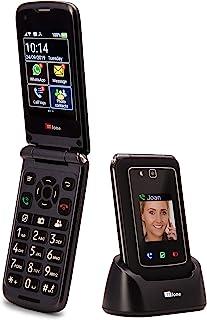 comprar comparacion TTfone Titan TT950 Whatsapp 3G Pantalla táctil Senior Big Button Flip Teléfono móvil: fácil y fácil de Usar