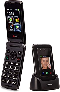 TTfone Titan TT950 Whatsapp 3G Touchscreen Senior Big Button Flip Mobile Phone - Easy and Simple to Use