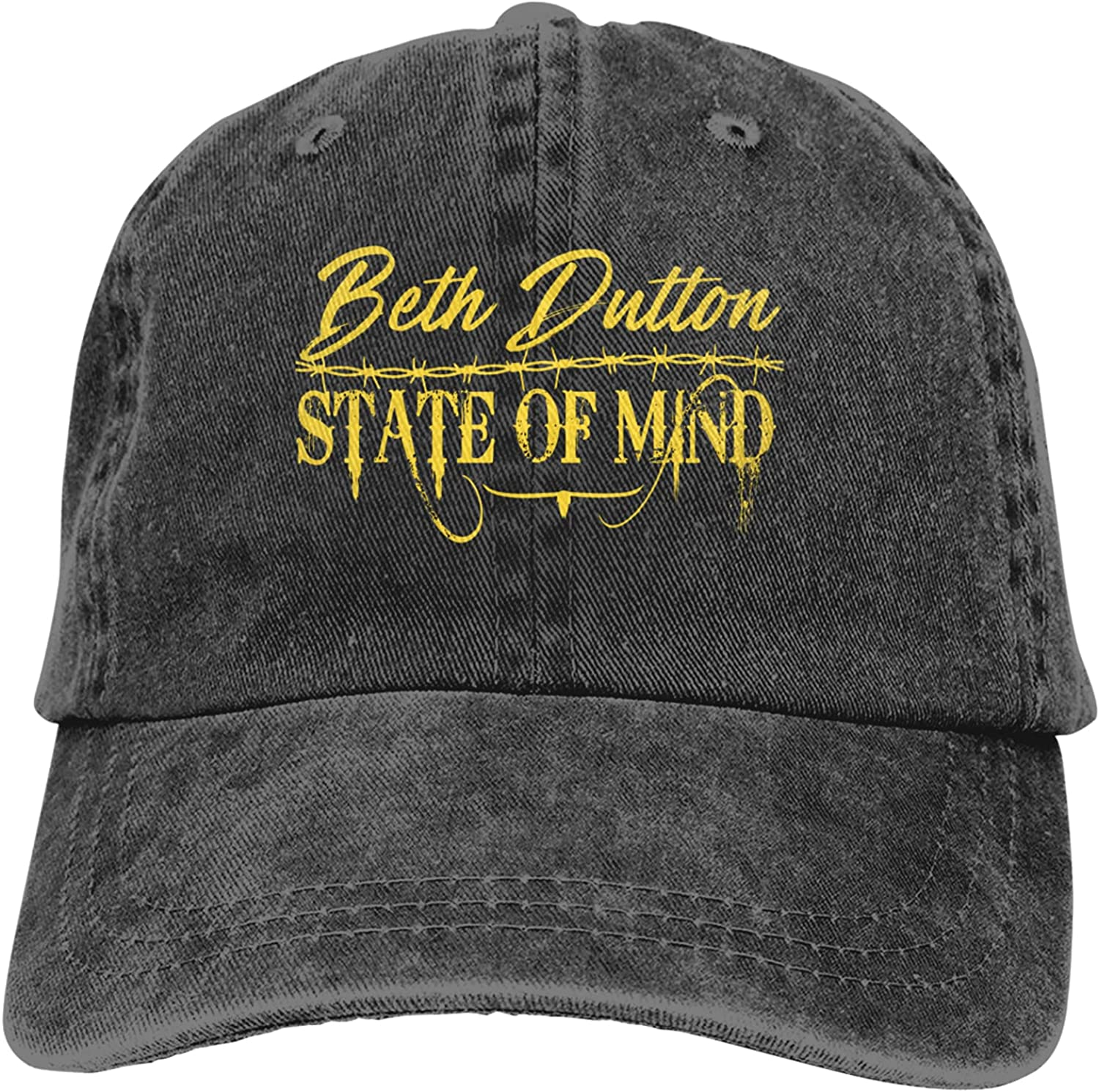 Beth Dutton State of Mind Sports Washable Cap Trucker Columbus Mall H Max 80% OFF Baseball