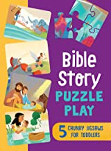 Bible Story Puzzle Play: 5 Chunky Jigsaws for Toddlers