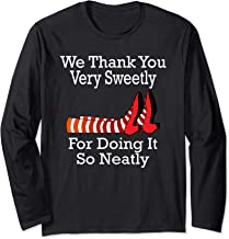 Wizard of Oz - We Thank You Very Sweetly Long Sleeve T-Shirt