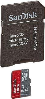 Cartão Memória SD Micro + Adaptador 8GB Sandisk Android Ultra Classe 10